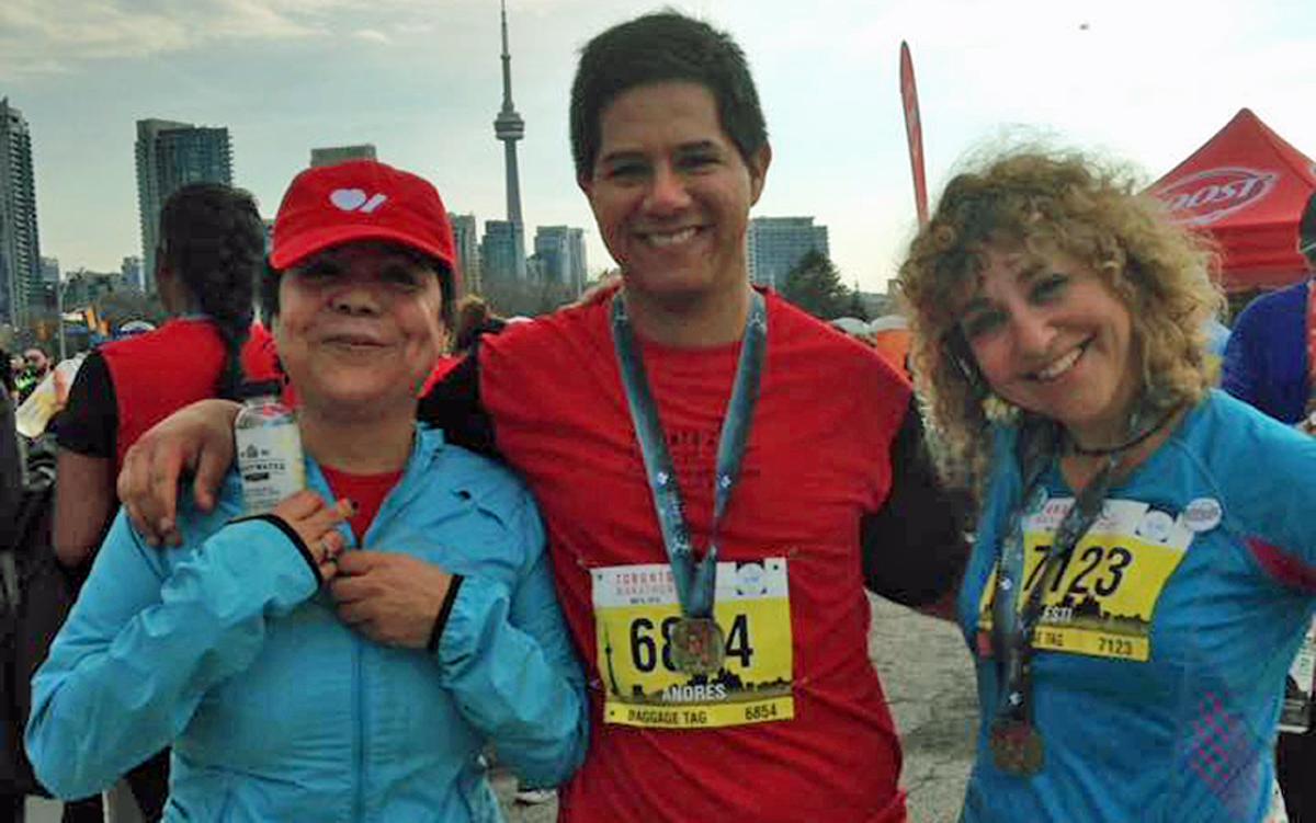 Andres Palomino at Toronto Marathon May 6, 2018