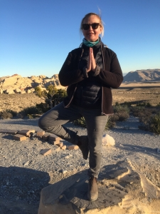 TrainingSpaces owner Laura Rantin at the Grand Canyon.