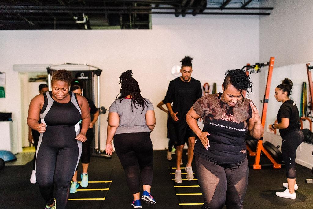 Celia Lopez group fitness