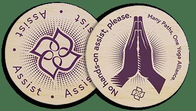 Consent cards / Image credit: Yoga Standards Project / yastandards.com