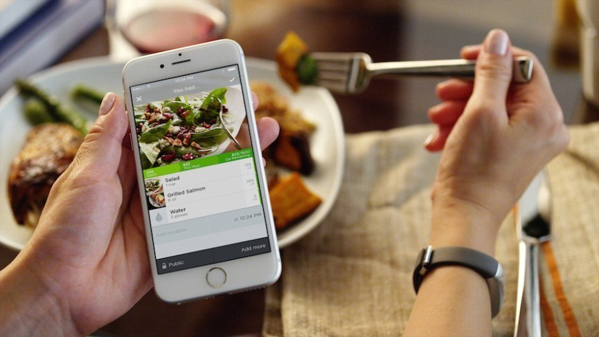 food tracking app / image source: damnripped.com
