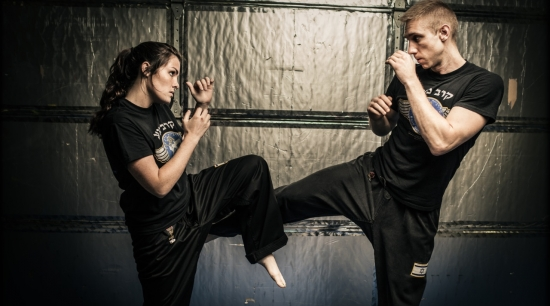 martial arts krav maga kick / Image source: martialartsguy.com