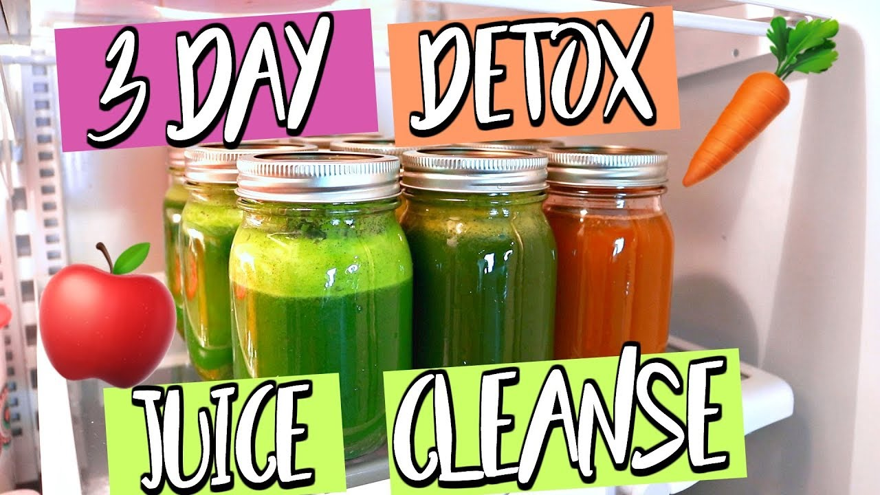 Detox juice cleanse promo