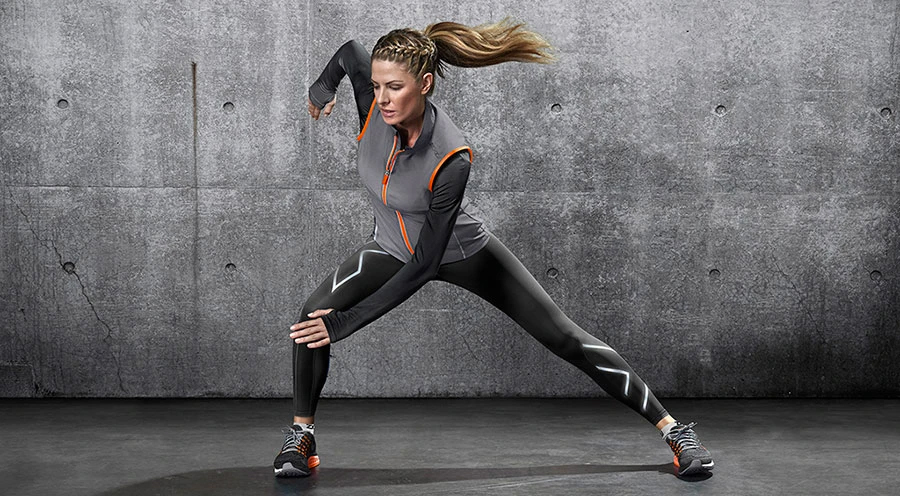 Compression leggings / Image source: The Sports Edit